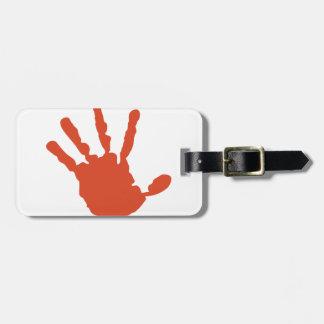 Handprint Bag Tag