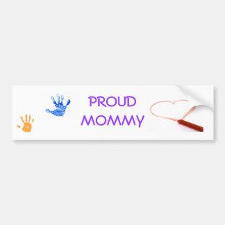 handprint, DrawRedHeart, ist2_2793966-child-s-h... Car Bumper Sticker