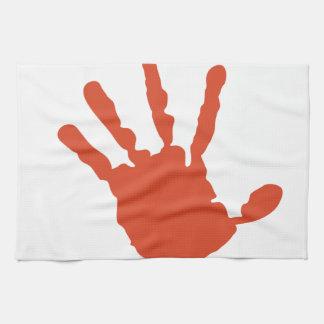 Handprint Kitchen Towels