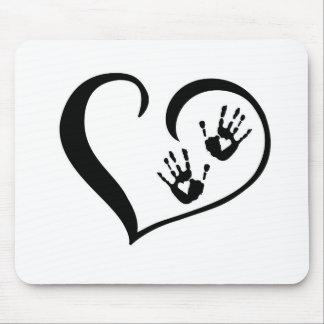 HandPrint_logo Mouse Pad