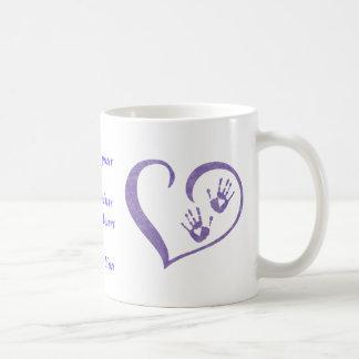 HandPrint logo Mug for drinks, holding pencils...