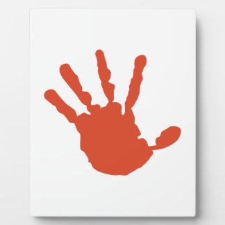 Handprint Plaque