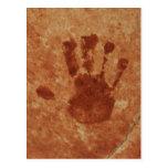 Handprint Postcard