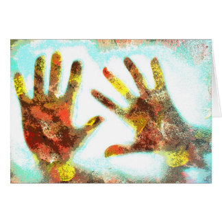 Handprints Card