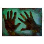 Handprints Greeting Card