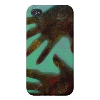 Handprints iPhone 4 Cases