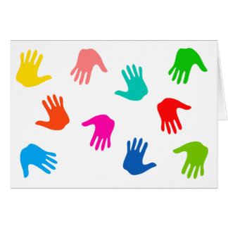 Handprints Note Cards