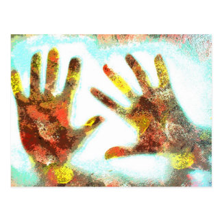Handprints Postcard