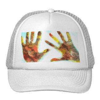 Handprints Trucker Hat