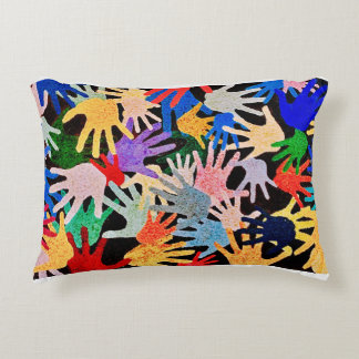 Hands Accent Pillow