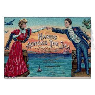 Hands Across the Sea Card