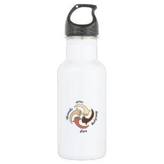 HANDS ARE FOR HELPING 18OZ WATER BOTTLE
