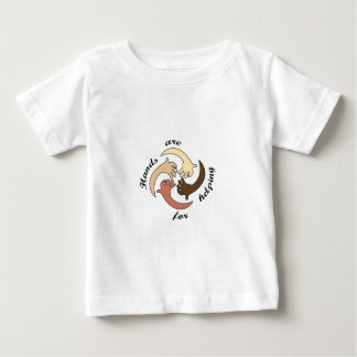 HANDS ARE FOR HELPING INFANT T-SHIRT