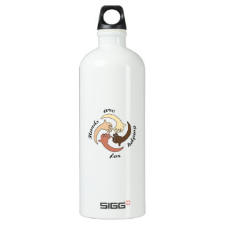 HANDS ARE FOR HELPING SIGG TRAVELER 1.0L WATER BOTTLE