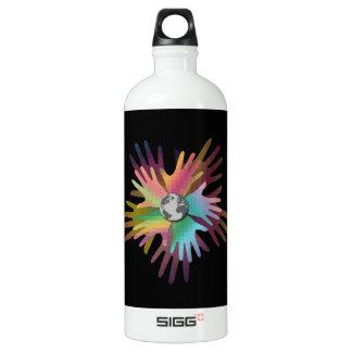 Hands Around the World SIGG Traveler 1.0L Water Bottle