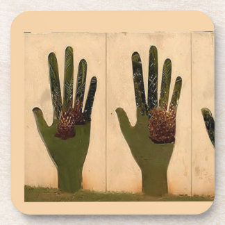 Hands Beverage Coaster