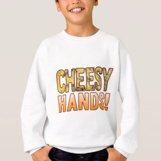 Hands Blue Cheesy Sweatshirt