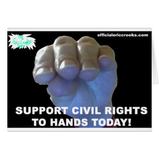 Hands Civil Rights Card