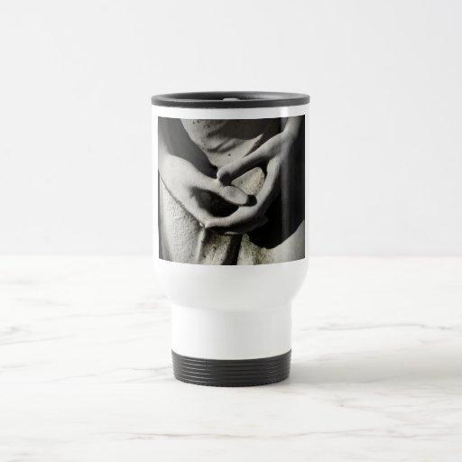 Hands Clutched Travel Mug