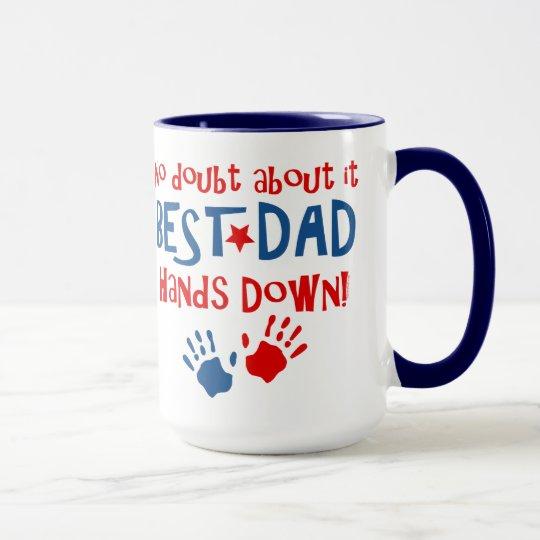 Hands Down Best Dad Mug