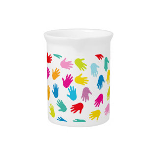 Hands for Love image Drink Pitcher