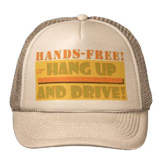 HANDS FREE CROPPED TRUCKER HAT