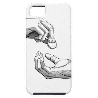 Hands Giving & Receiving Money iPhone SE/5/5s Case