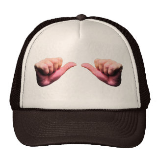 hands trucker hat