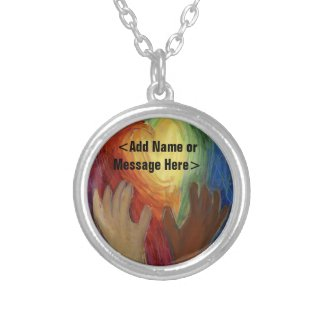 Hands & Hearts Diversity Jewelry DEI Love Necklace