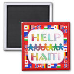 Hands Helping Haiti Magnet Magnets