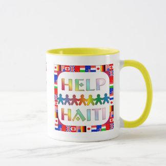 Hands Helping Haiti Mug