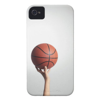 Hands holding a basketball,hands close-up iPhone 4 case