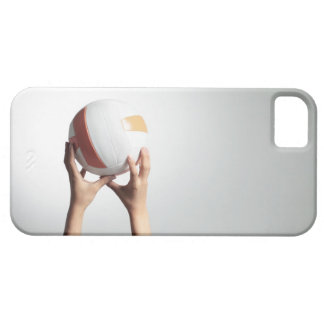 Hands holding a volleyball,hands close-up iPhone SE/5/5s case