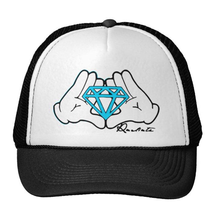 Hands Holding Diamond Hat