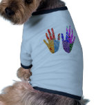 Hands in BLESSING Pet Clothes