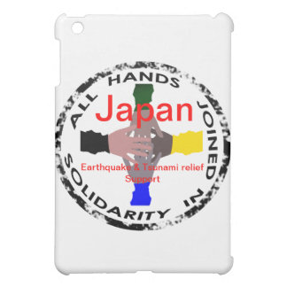 Hands in Solidarity Japan E_quake Relief Ipad Case