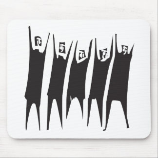 Hands in the Air Mouse Pad