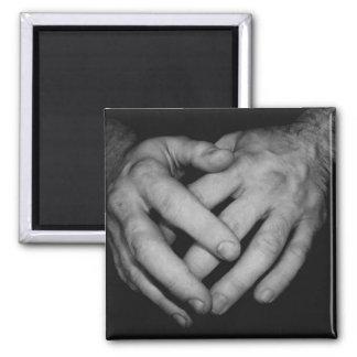 Hands magnet