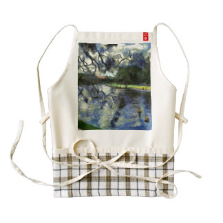 Hands of a witch zazzle HEART apron