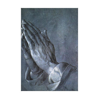 Hands of an Apostle - Canvas Reproduction Stretched Canvas Prints