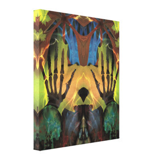 Hands of Autumn Wrapped Canvas