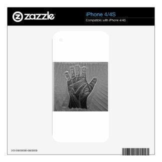 Hands of Fate iPhone 4 Skin