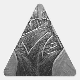 Hands of Fate Triangle Sticker
