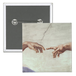 Hands of God and Adam Button