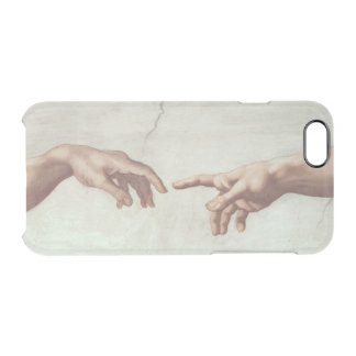 Hands of God and Adam Clear iPhone 6/6S Case