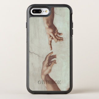 Hands of God and Adam OtterBox Symmetry iPhone 7 Plus Case