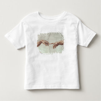 Hands of God and Adam Toddler T-shirt