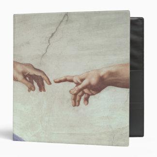 Hands of God and Adam Vinyl Binders