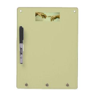 Hands of God Dry-Erase Board