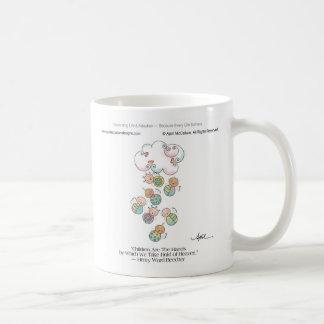 HANDS OF HEAVEN Mug by April McCallum